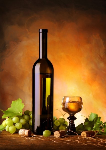 Photo of Wine Bottle and Glass
